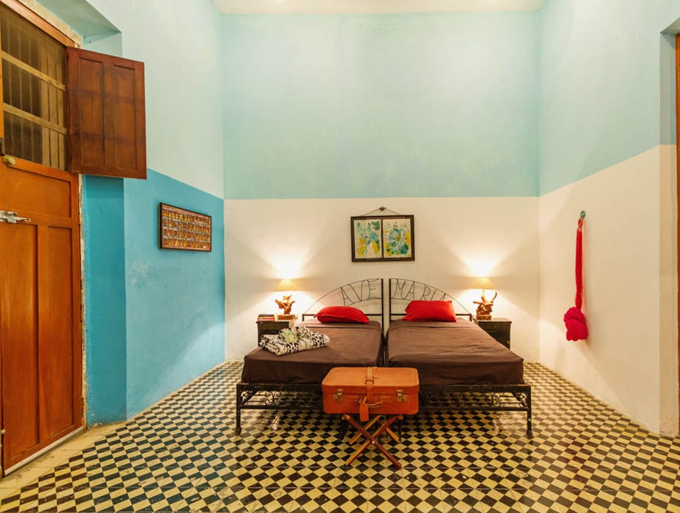 Mexican-contemporary style accommodation: Casa Lala Merida  Mexico