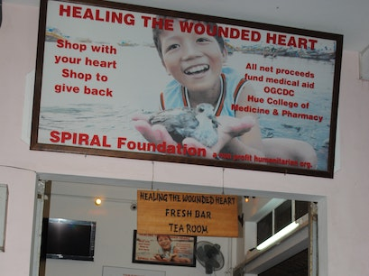 Healing The Wounded Heart Shop Hue  Vietnam