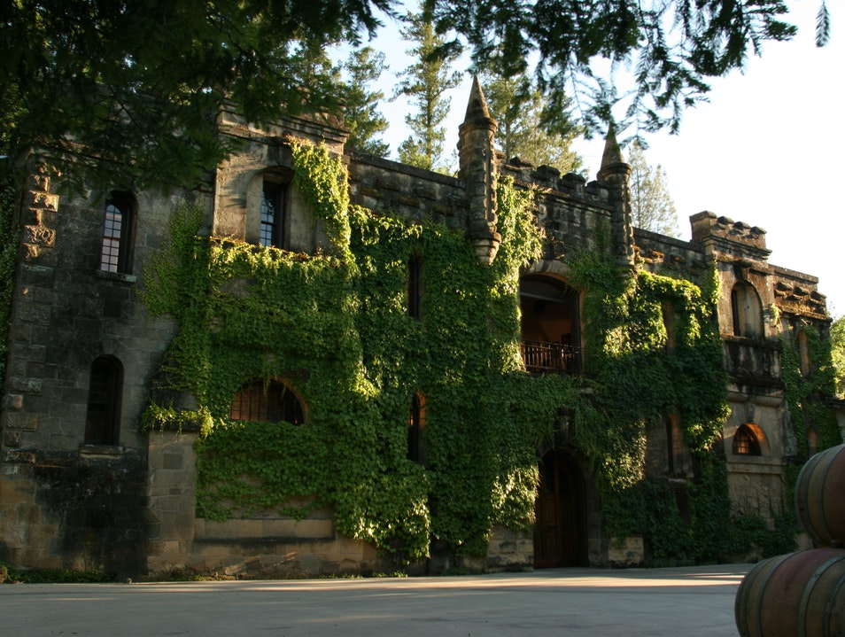 Historic Chateau Montelena Calistoga California United States