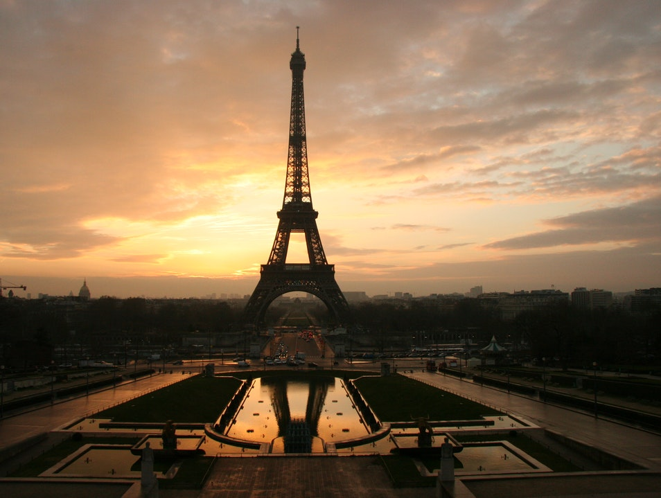 The Eiffel Tower, A French Icon