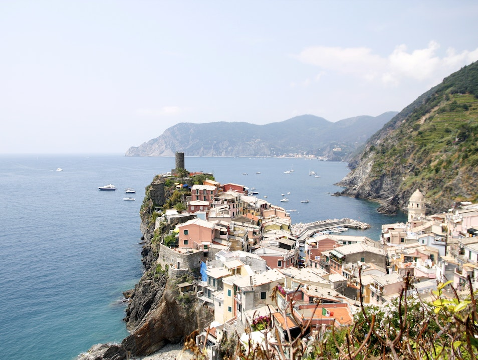 Vernazza's town festival with the locals