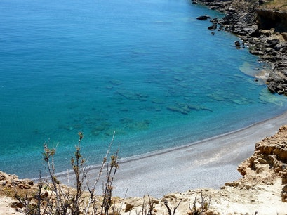 Agiofaraggo Beach Heraklion  Greece