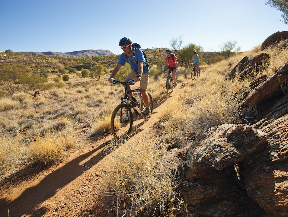 Cycling in Alice Springs