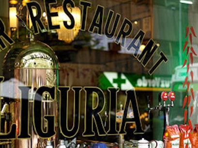 Liguria Bar & Restaurant Santiago  Chile