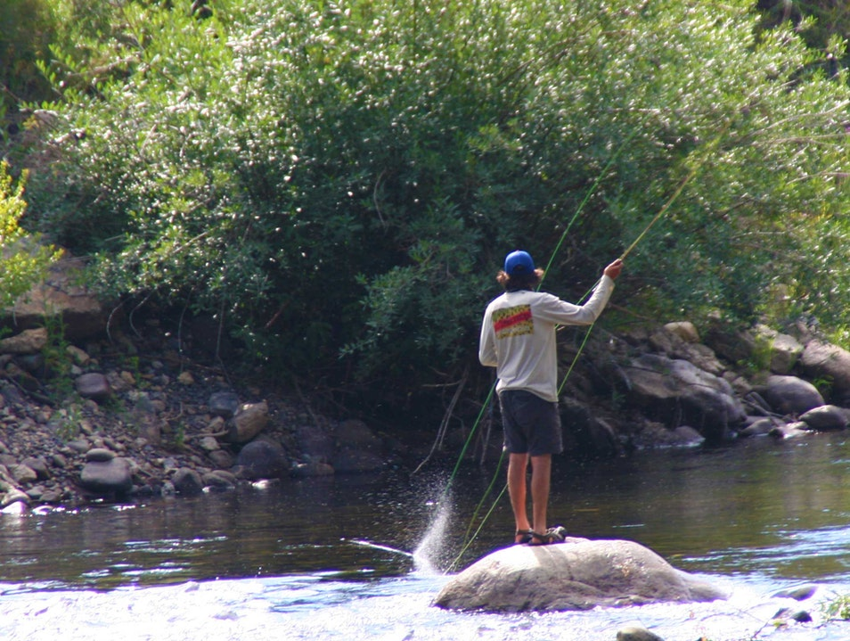 Fly Fishing in Paradise Avon Colorado United States