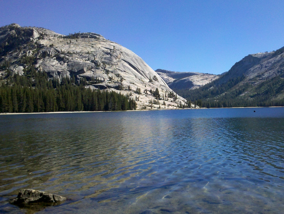 Lake Tenaya Dome Wawona California United States