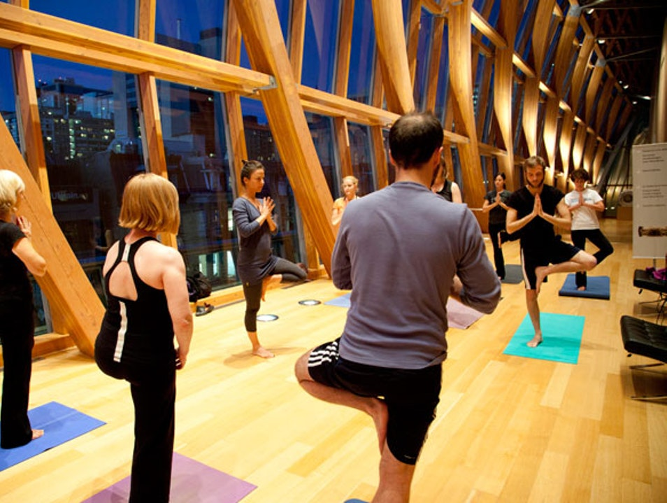First Thursdays and Yoga at the AGO   Toronto  Canada