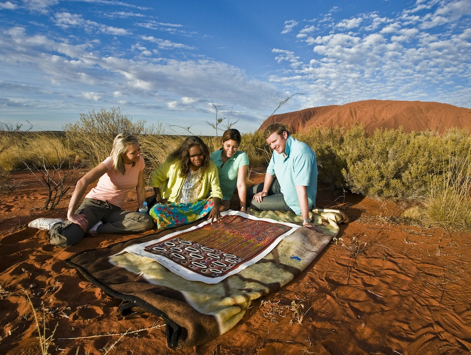 Get a Special Perspective on Uluru (Ayers Rock) Petermann  Australia