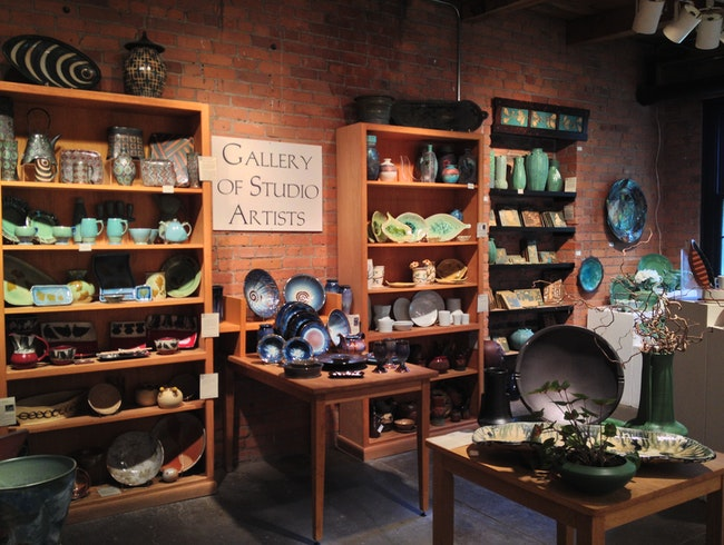 Shop and Learn at Historic Pewabic Pottery
