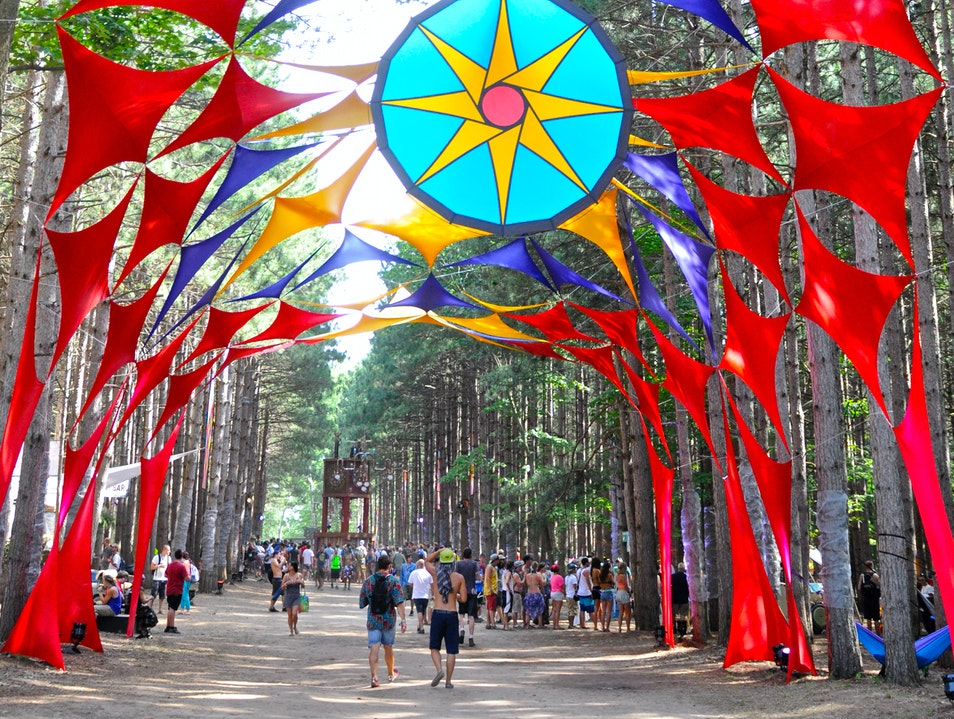 Go To Electric Forest Festival Rothbury Michigan United States