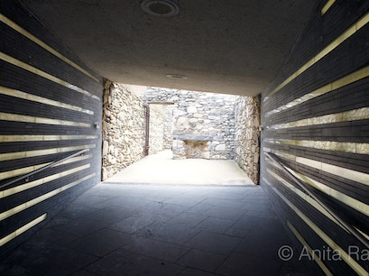 Irish Hunger Memorial New York New York United States
