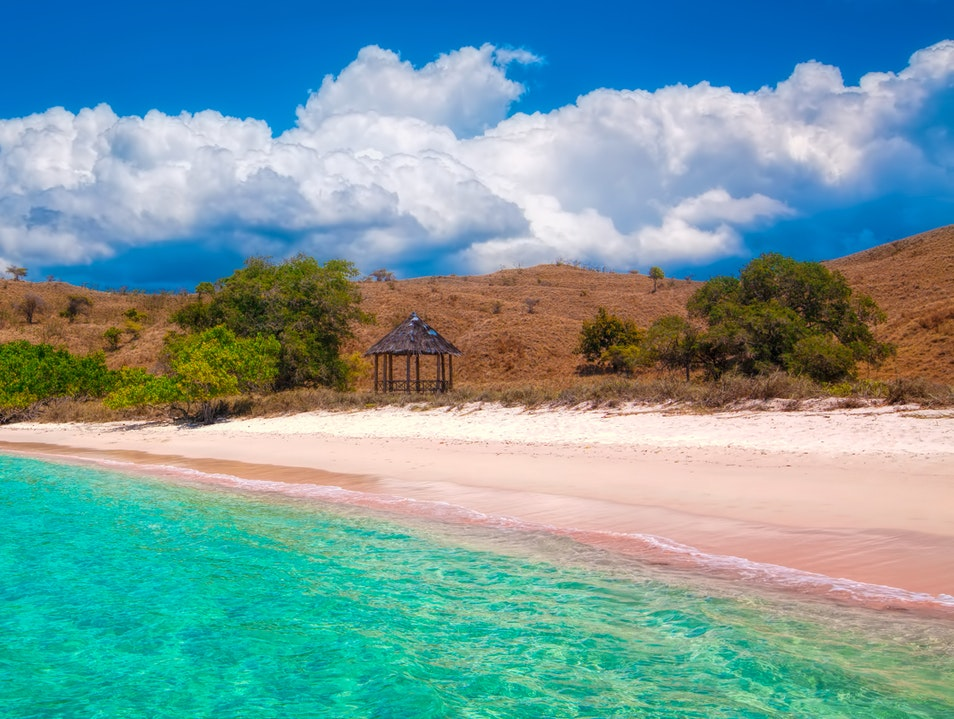 Pink Beach Komodo  Indonesia