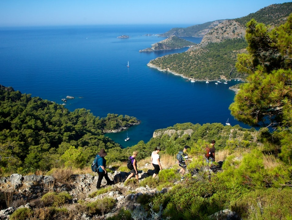 Do the  Mediterranean by Foot