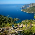Lycian Way Trail Kayaköy  Turkey