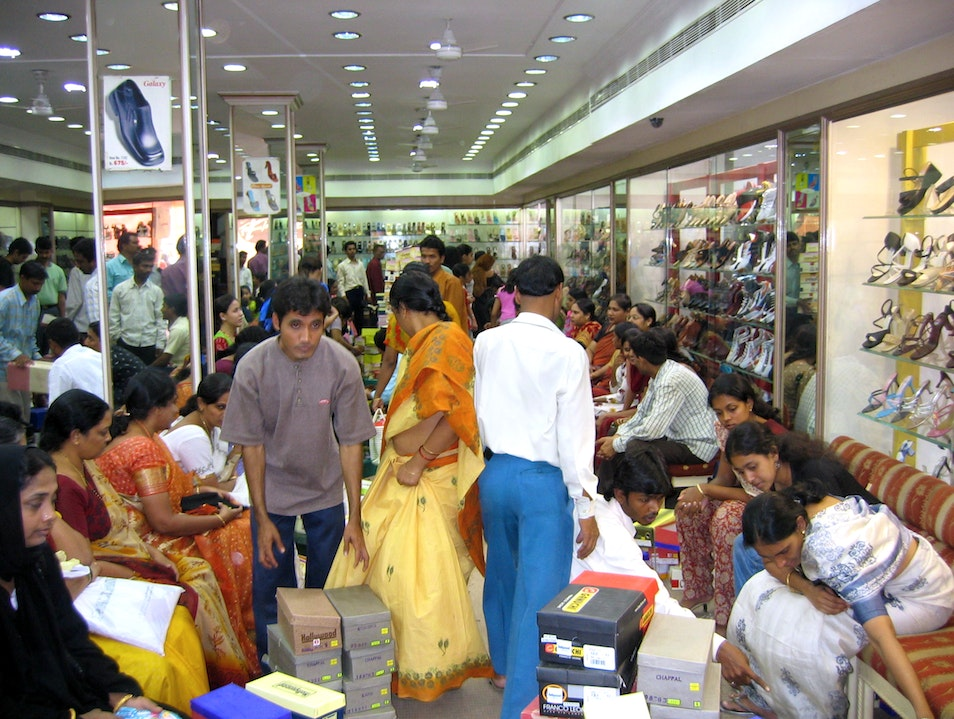 Bizarre Hyderabad Shoe Bazaar Hyderabad  India