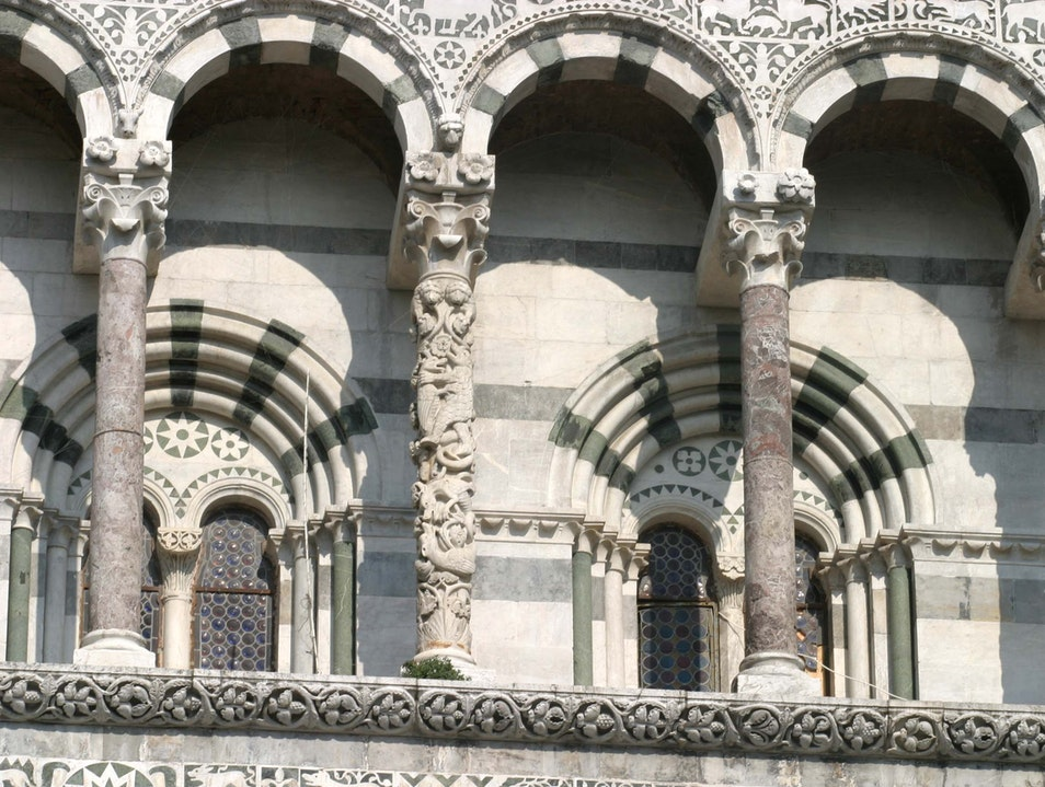 Lucca's Cathedral  Lucca  Italy