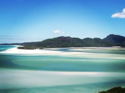 Sailing the Whitsunday's from Airlie Beach Airlie Beach  Australia