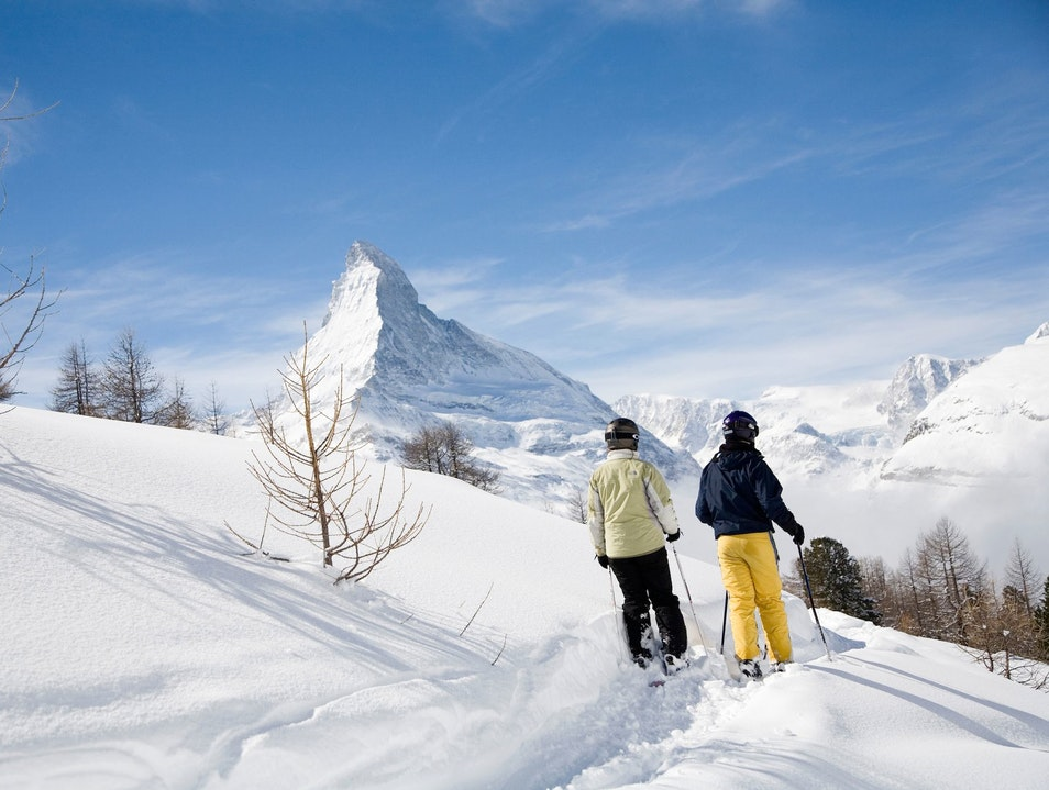 Soak in the Snow at Cervo Resort   Switzerland