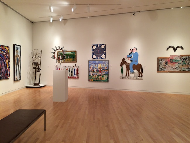 University Art Museum Featuring Regional Artists