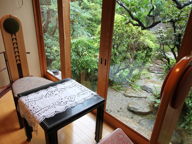 A Traditional Japanese Ryokan in Kyoto