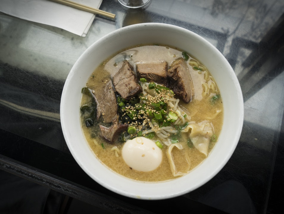 Local Ramen & Beer–Underbelly Little Italy San Diego California United States