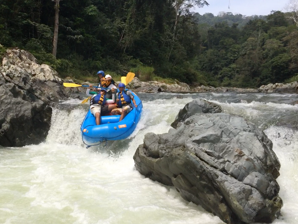 Tackle Rapids on Panama's Chagres River
