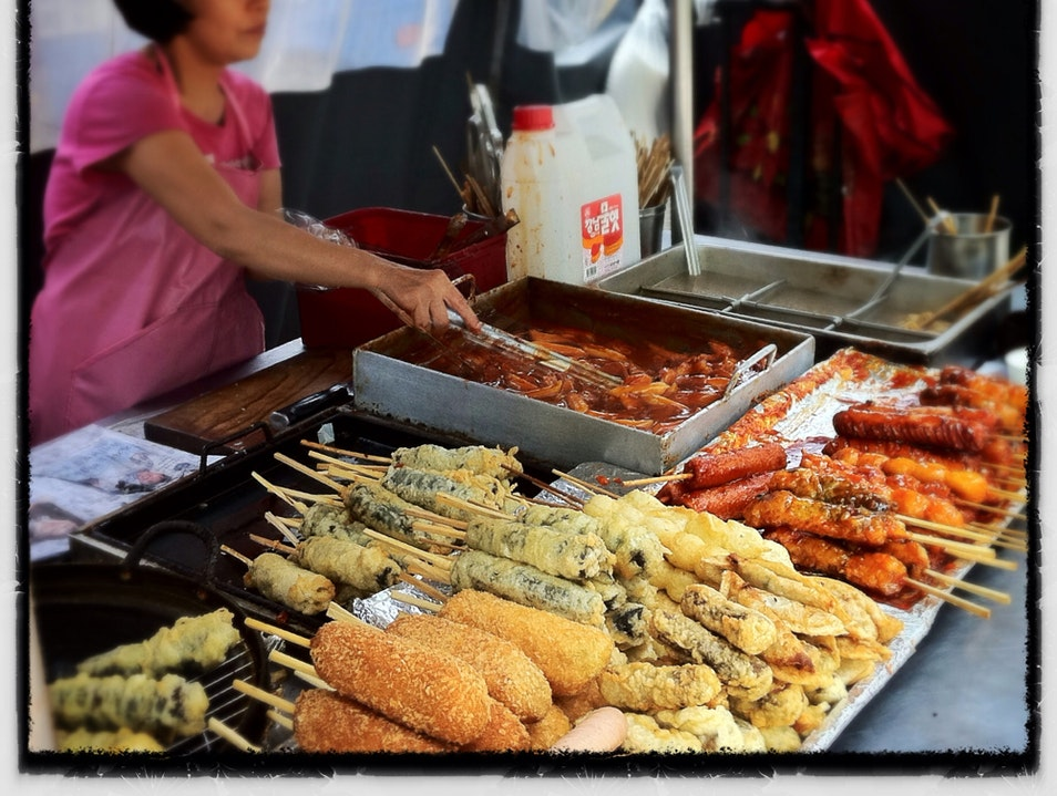 Street Food Scene In Seoul Seoul  South Korea