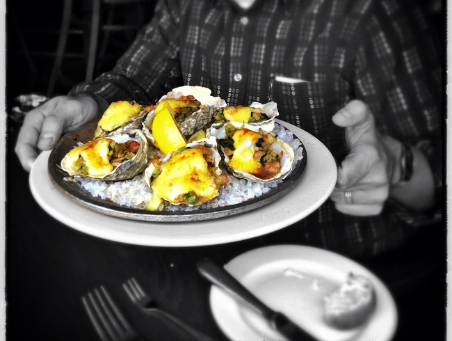 Oysters on Pier 56