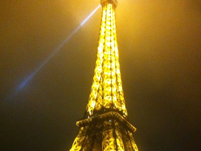 Night At Eiffel Tower