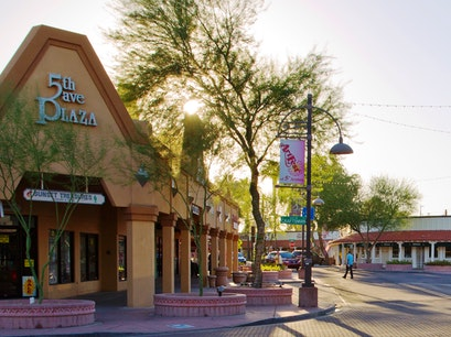 Fifth Avenue Shopping District Scottsdale Arizona United States