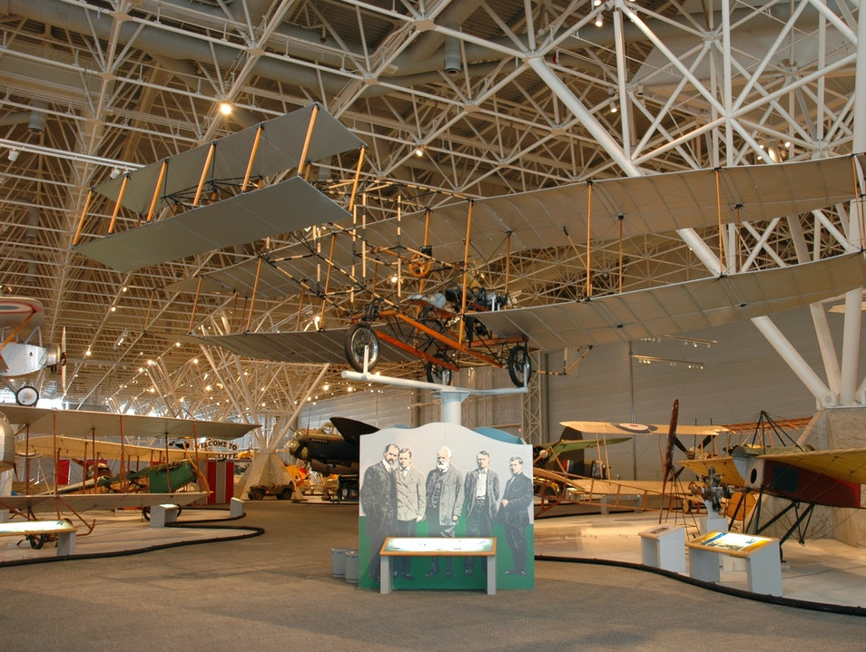 Flight Simulator at the Canada Aviation and Space Museum