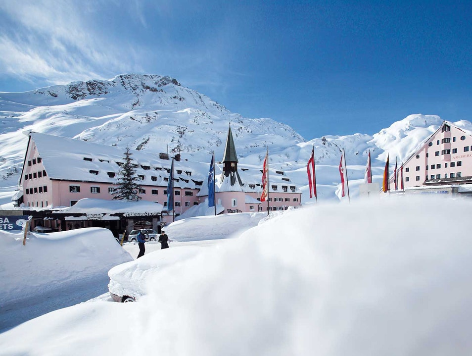 Luxury Ski Resort with History