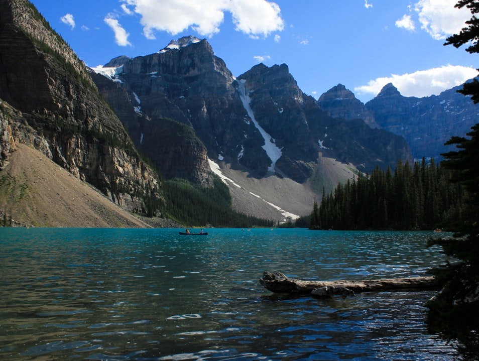 Moraine Lake...Beautiful Blues Improvement District No. 9  Canada