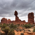Balanced Rock Moab Utah United States