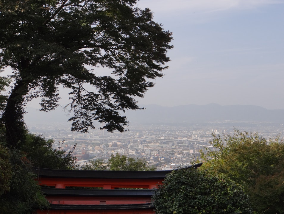 Temples and a Great View Kyoto  Japan