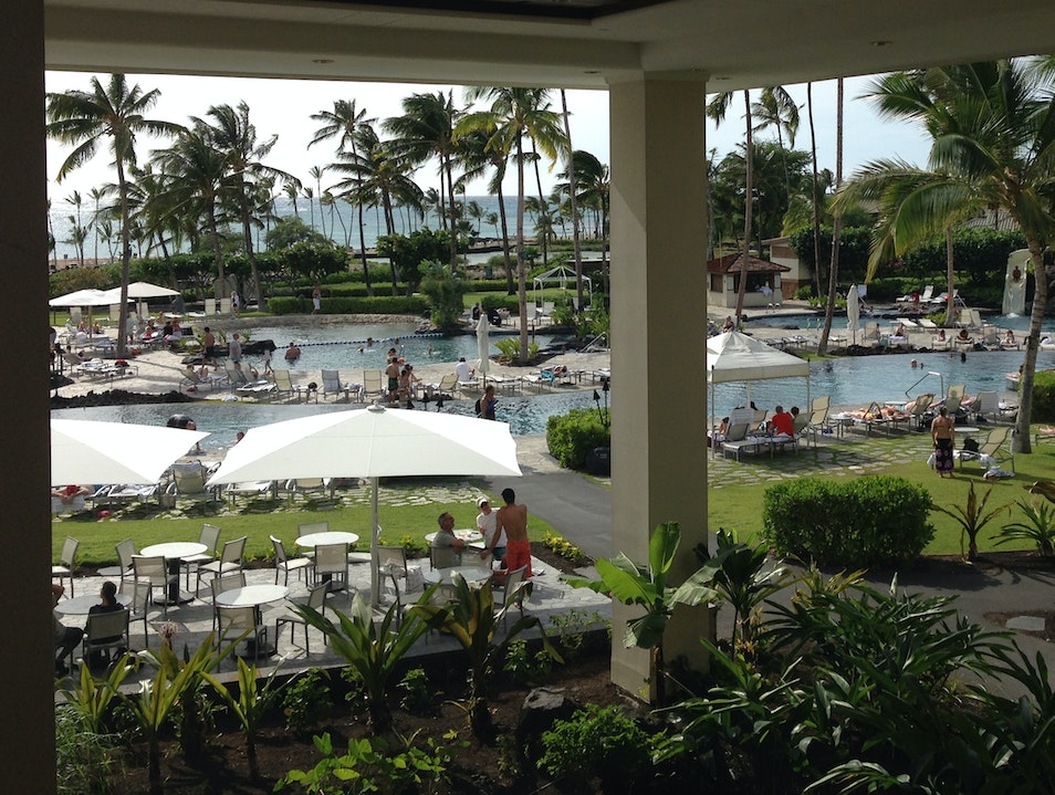A Hotel for Foodies - Waikoloa Beach Marriott Resort  Waikoloa Village Hawaii United States