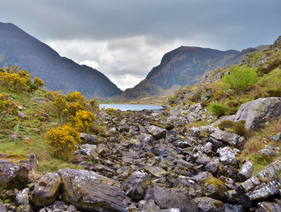 Gap of Dunloe in Ireland