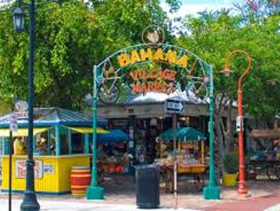 Stroll Through Bahama Village Key West Florida United States