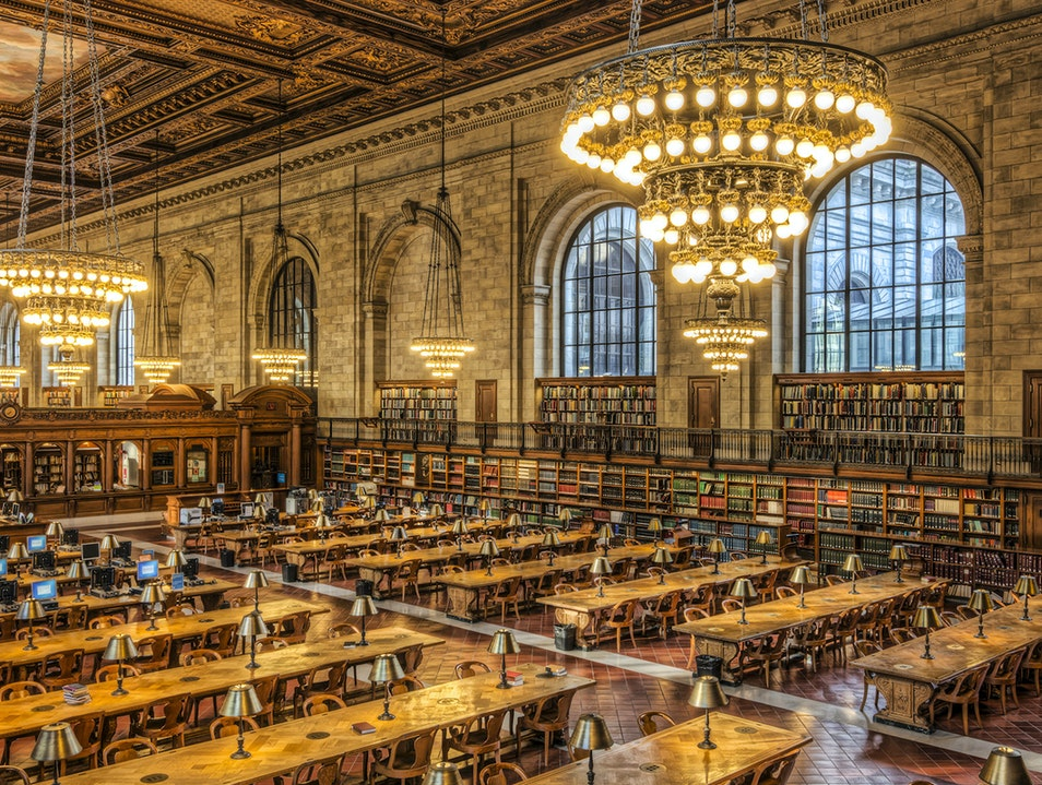 New York Public Library Main Branch New York New York United States