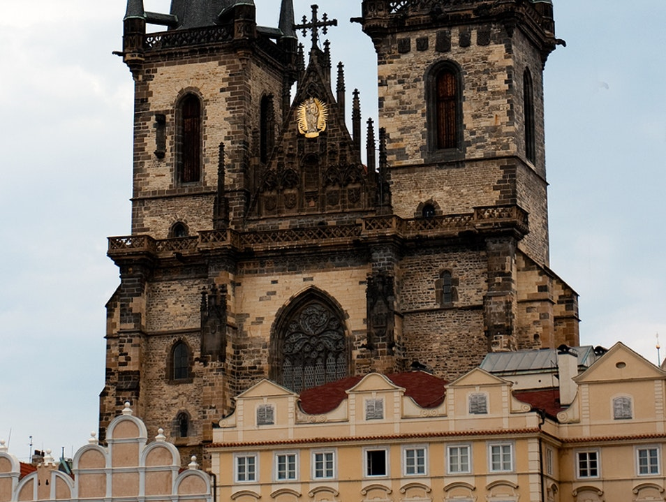 Church of Our Lady before Týn Prague  Czech Republic