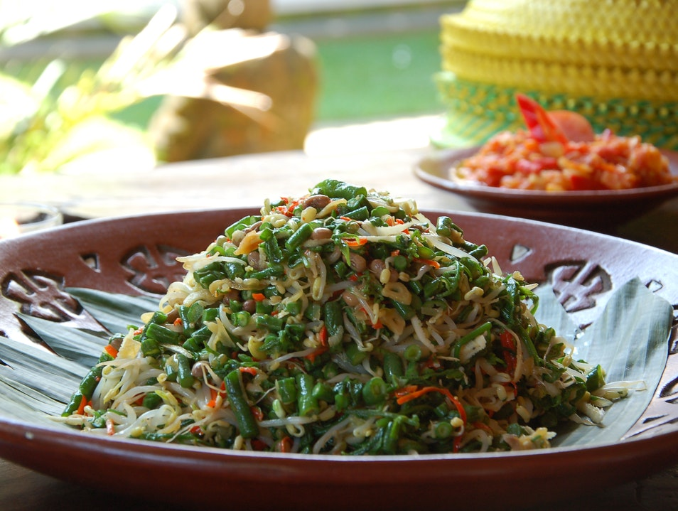 Asinan Salad: Learn about the Balinese culture and food Ubud  Indonesia
