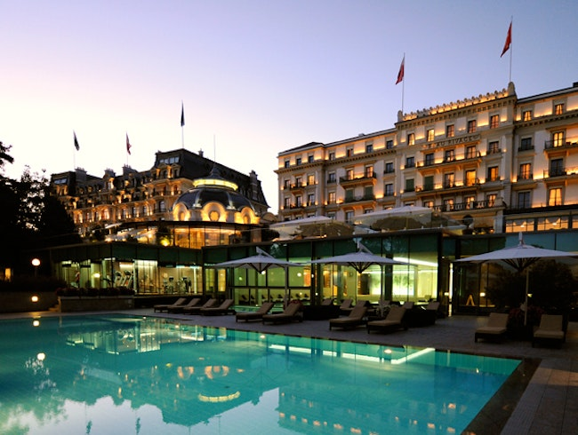 Champagne, Swans & the Swiss Riviera