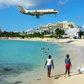 Maho Beach Simpson Bay  Sint Maarten
