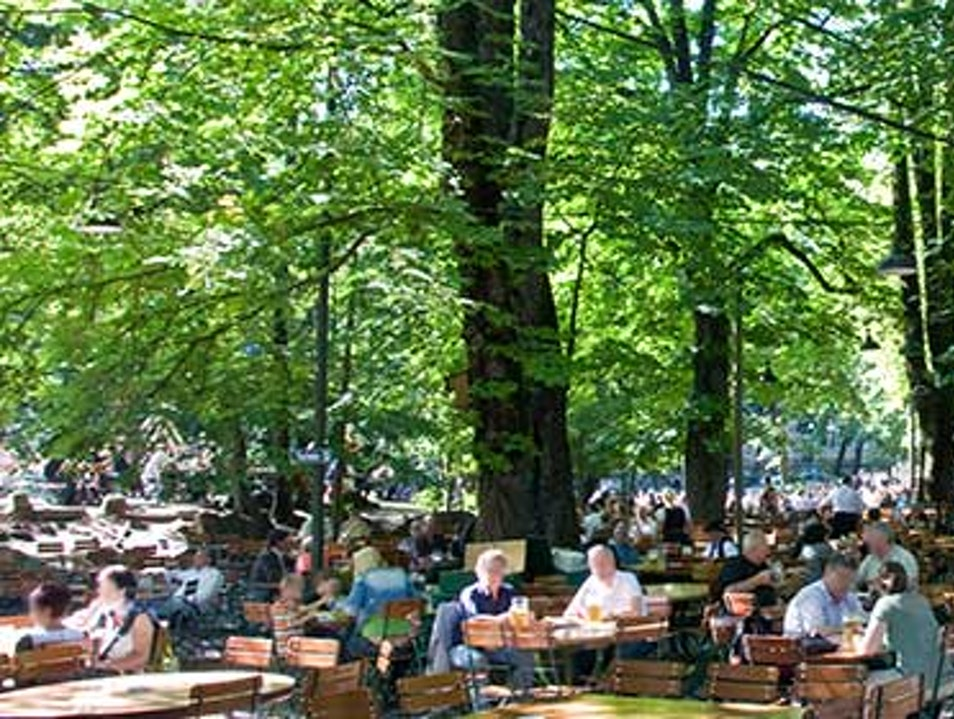 Munich's Most Rustic Beer Garden Munich  Germany