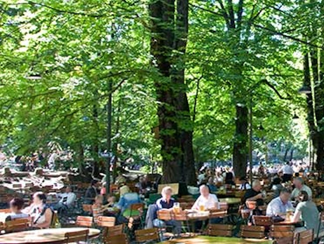 Munich's Most Rustic Beer Garden