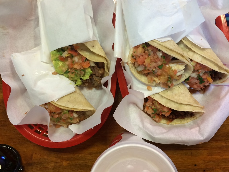 Carnitas Tacos in the Heart of the Mission San Francisco California United States