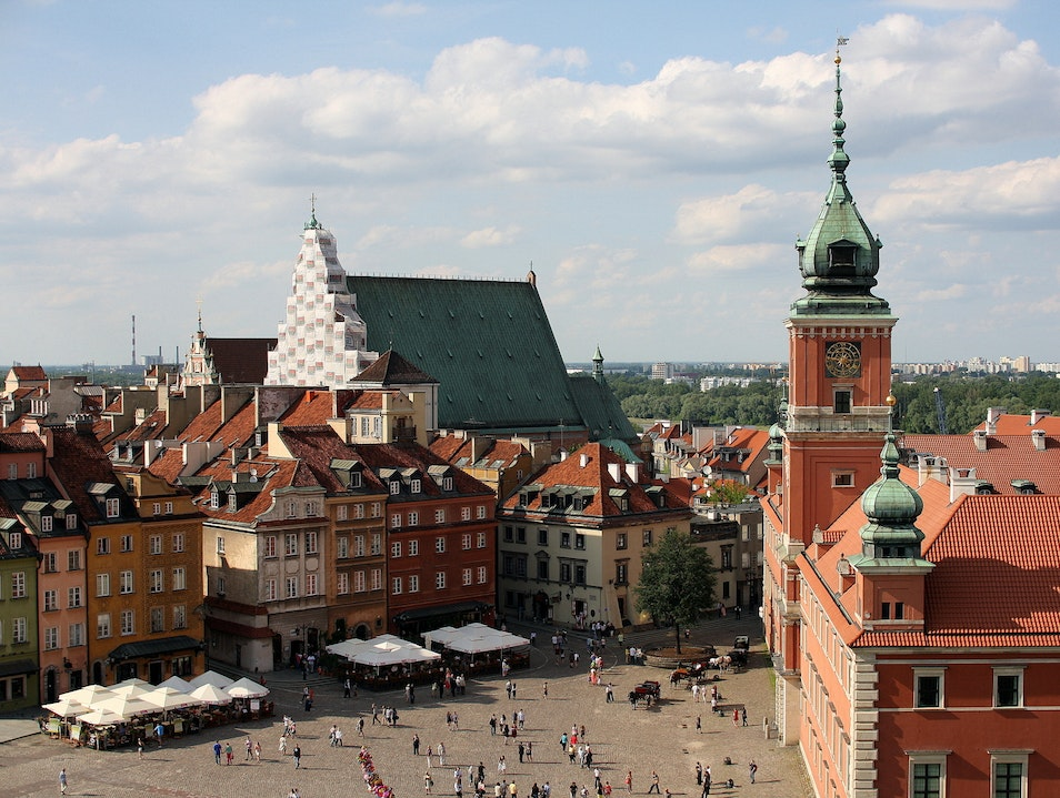 Hub for Tourists and Locals Warsaw  Poland
