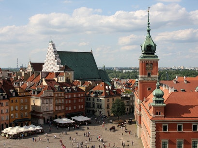 Royal Castle & Castle Square Warsaw  Poland