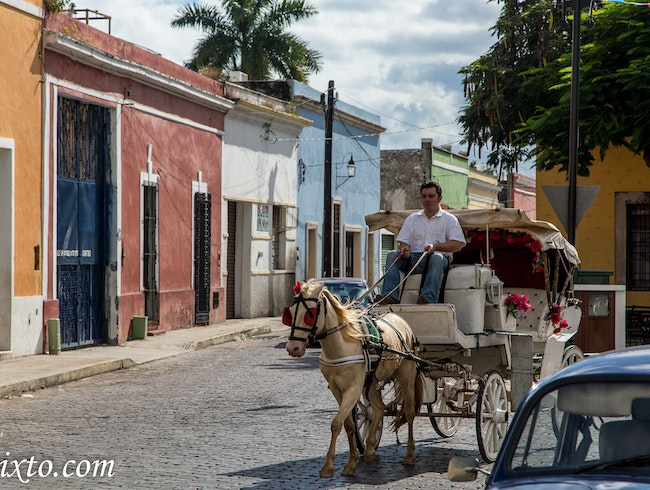 La Ermita: historical neighborhood in Merida