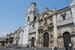 Visiting the remains of Pizzaro in the Cathedral of Lima. Lima  Peru